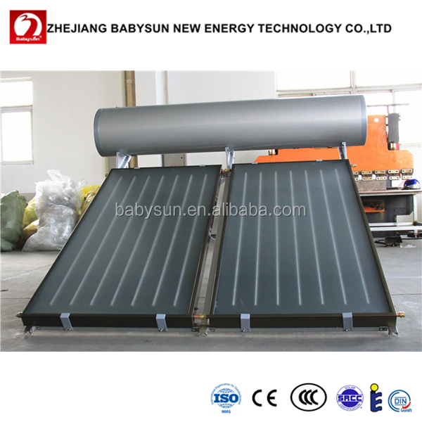 2016 Hot sale flat plate solar water heaters, flat plate solar collector