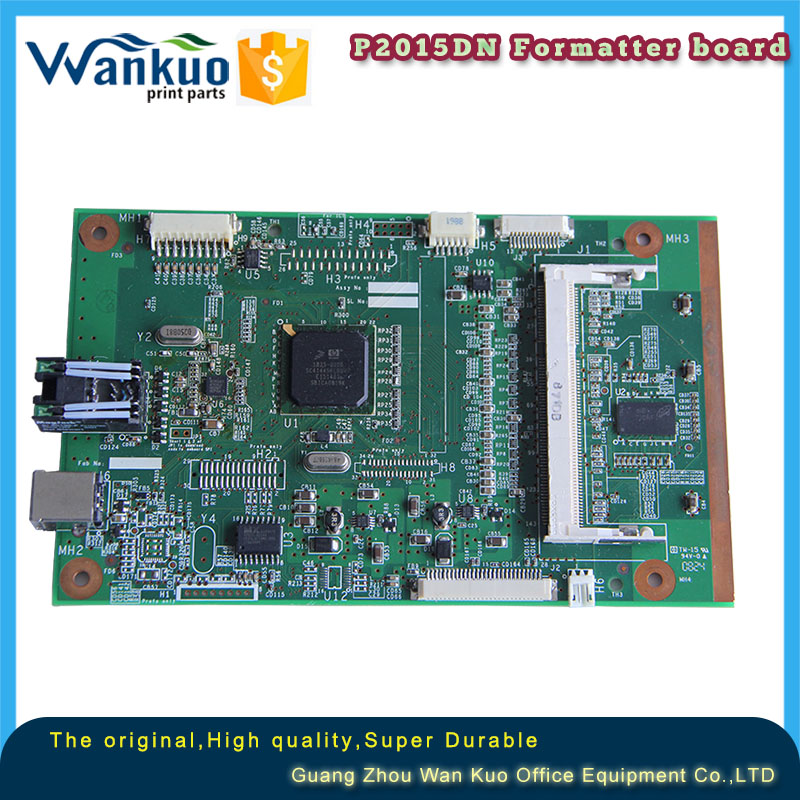 Genuine For HP LaserJet P2015 P2015D P2015DN formatter board /Main logic board Q7804-60001 Q7804-69003