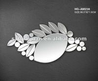 2012 new wall home interior bevelling decorative mirror HG-AM230