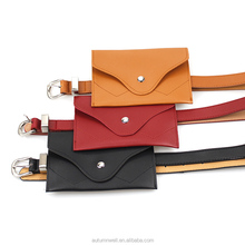 Korean fashion personality,Wholesale pu leather belt purse/pocket,casual Pu leather cell phone bag/wallet