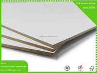 2.5mm white melamine board for pcb drilling