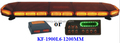 Hot selling Cheap Police LED Warnig Light Bar, (KF-1900L6,120CM),132 PCS 3W Linear LED,with controller