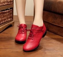 Casual Women dance shoes flat heel dancing sneakers sports damce shoes