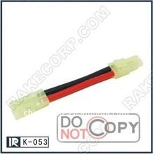 Manufacturer of Tamiya Female to Dean Male Adapter 14AWG Silicone Wire Cable
