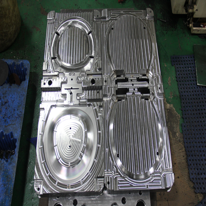 Injection Mold Toilet Cover And Seat
