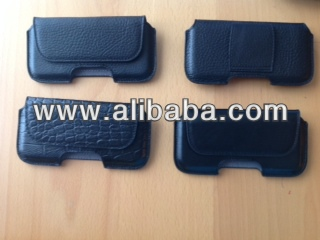 genuine leather horizontal slim cases by Unvers leather