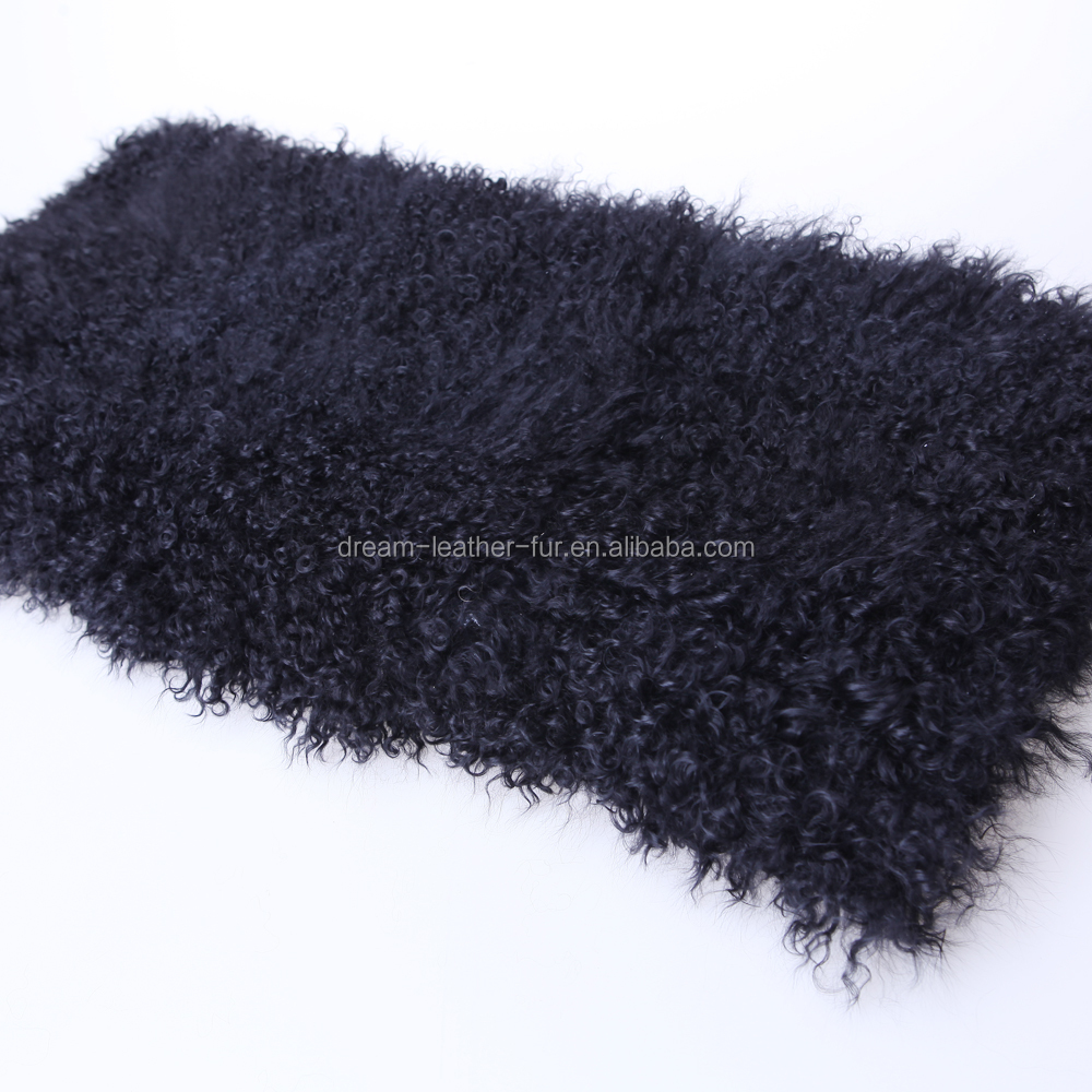 real mongolian lamb fur blanket
