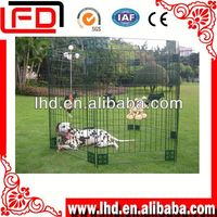Folding Metal pet kennel fence