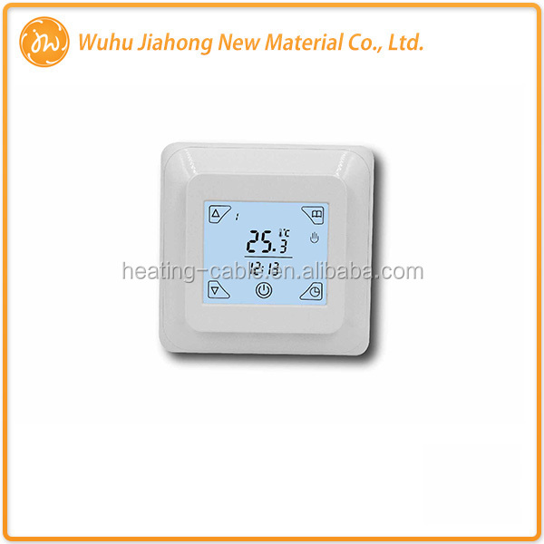 2017 new lcd touch screen digital programmable thermostat for floor heating