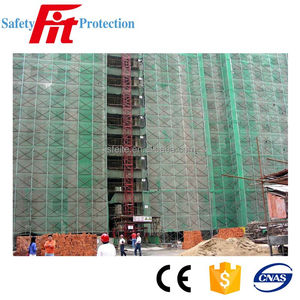 green building safety protection net for construction