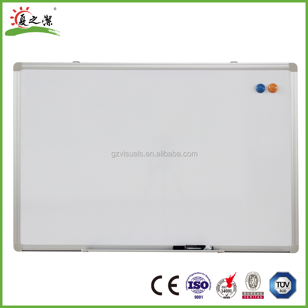Standard size magnetic dry erase whiteboard for sale