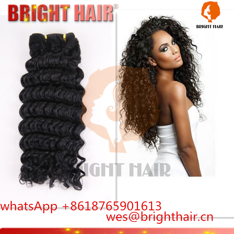 2016 alibaba top 10 sale brazilian human hair,100% virgin hair extension,deep wave hair weave