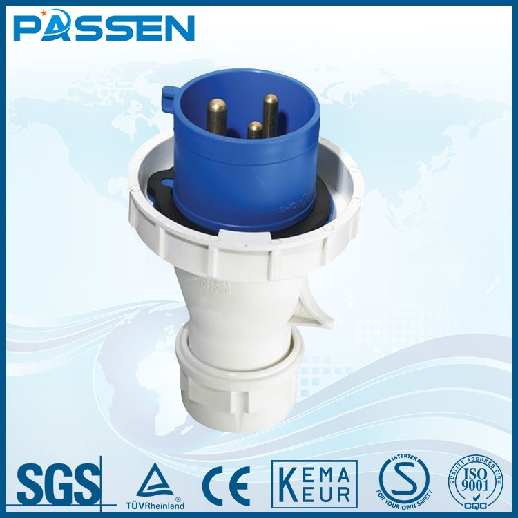 PASSEN Chinese goods wholesales industrial plugs socket three-phase