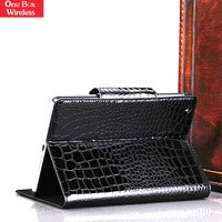 Luxury Wallet Case Flip Cover Pouch Crocodile PU Leather Phone Bags Cases for iPad Mini 1