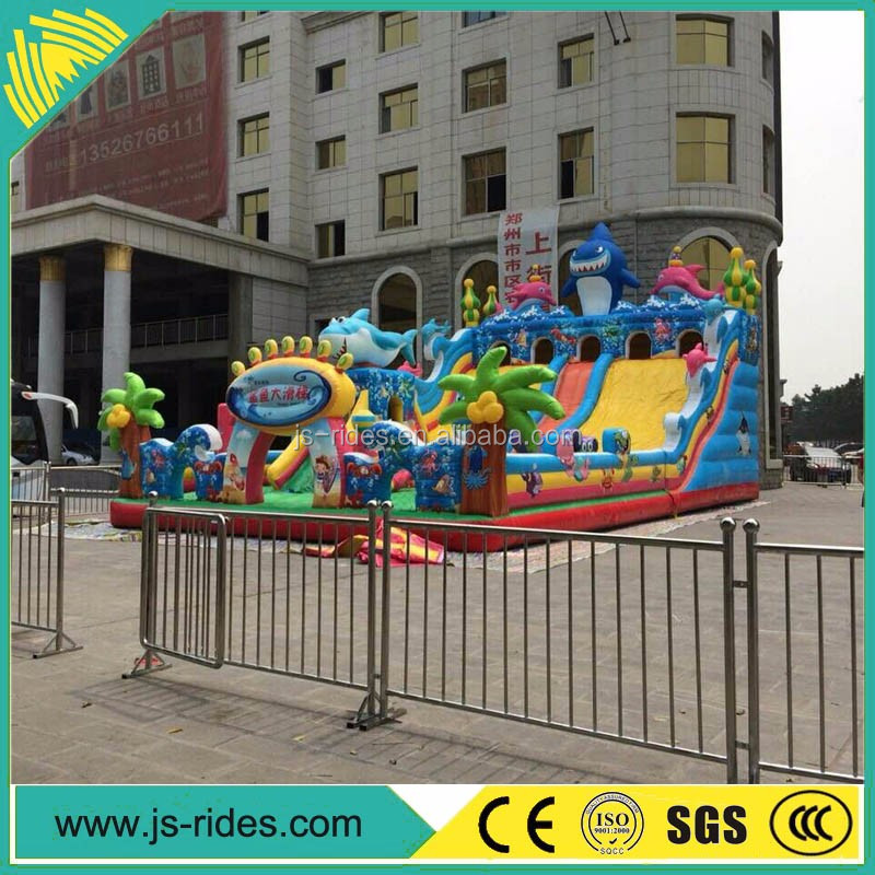 amusement park giant inflatable water slide for adult rides price