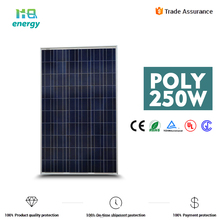 ensure payment 25 years refund policy warranty 250w solar panels for home