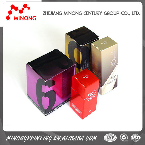 Wholesale manufacture printed paper essential oil box