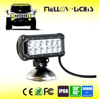 Good design 36W multi color illuminator dot approved led light bar for off road cars atv suv truck vehicle boat motorcycle