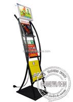 12.1 inch touch screen advertising player interactive touch kiosk (MAD-121)