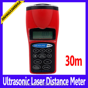 30m ultrasonic distance measurer distance meter Foot/Meter display options