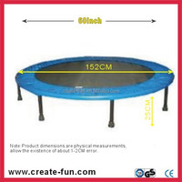 "CreateFun 60"" best quality mini trampoline bed cover padding for kids"
