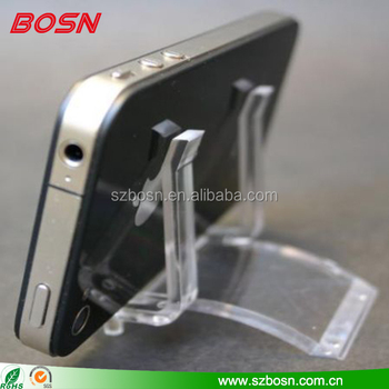 Modern design Acrylic phone display, Hot sell acrylic phone holder, good price acrylic phone block