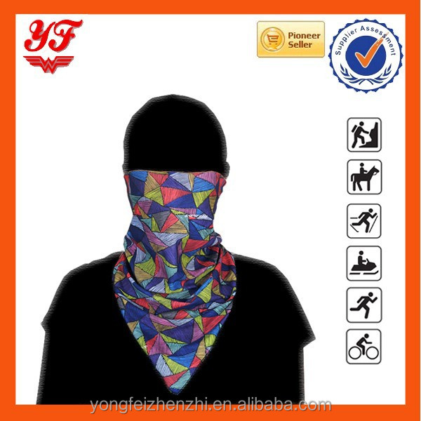 Outdoor Cycling Seamless Magic Bandana Elastic Quick Dry Triangular Bandana Cycling Wear