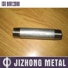 Shijiazhuang Manufacturer Malleable Iron Pipe Fitting Gi Nipple