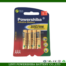Professional Manufacturer 1.5V AAA Lr03 Primary Battery Alkaline Battery