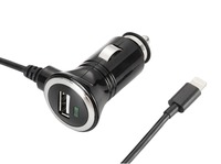 CE RoHS Reach USB 3.0 TYPE C Car Charger 5V 3.1A With C48 Cable For iPHONE/iPAD/iPOD