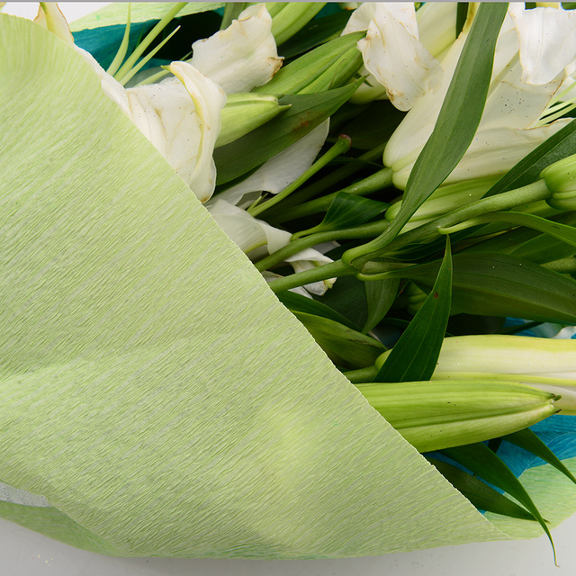 50*250cm Crepe Wrapping Paper for Gift and Fresh Flower