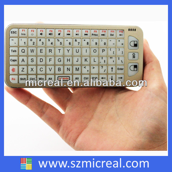 2.4GHz RF Mini Fly Air Mouse Wireless Keyboard Remote
