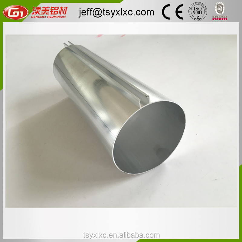 anodized custom size or standard size aluminium extrusion profile tube