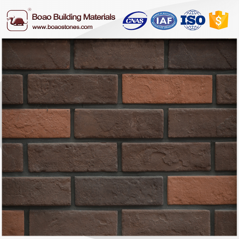 3d polyurethane decorative Archaized Brick Panel