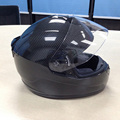 Toray 800 Carbon Fiber Chinese Glossy Full Face Flip Up Motorcycle Helmet For Motorcycle Equipment