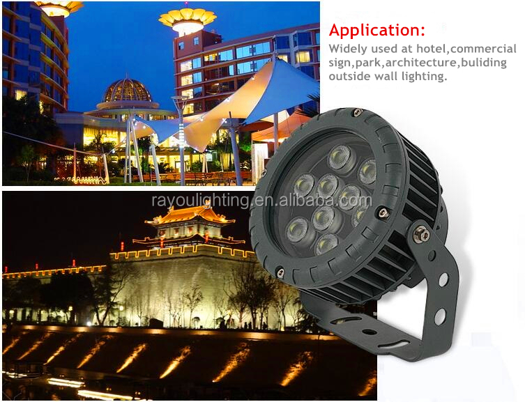 exterior ip65 led spot light 12v, outdoor color changing led spotlight, waterproof design Christmas led spotlight fixture