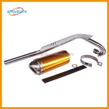 Dirt bike pit bike exhaust pipes with muffler