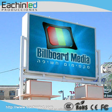 P8 outdoor full color video LED display for promotion
