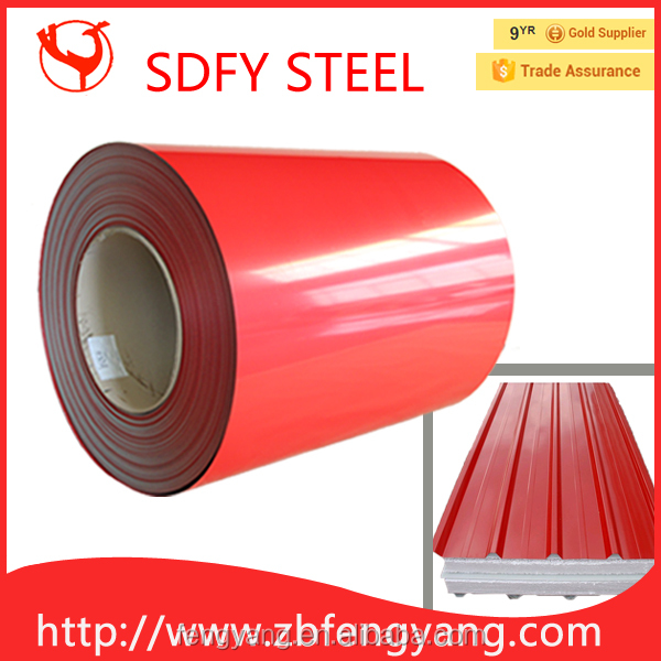 Color Coated Steel Coil with decorative metal roof tile