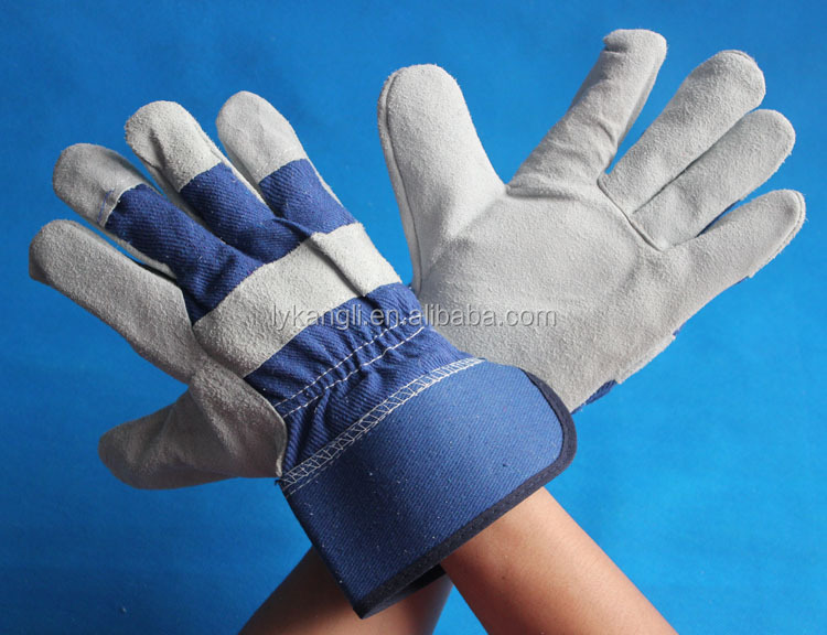 full palm cowhide leather rigger working gloves working gloves leather for sale