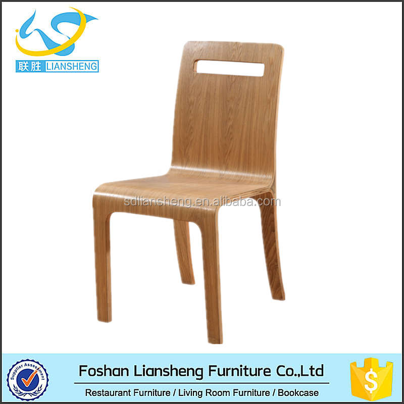 Special vintage design warp wood chair dining room table for Special chair design