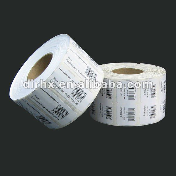 Self Adhesive roll price Label Suitable of indication of price in supermarket
