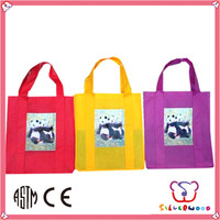 ICTI Factory promotion and elegant recycled pet bottles non woven bag