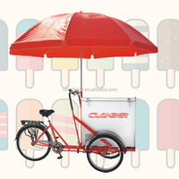 2016 CE 3 wheel cargo bike with single speed ice cream tricycle cargobike /bakfites/bakifets UB-9027BW wholesale china bike