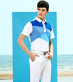 2017 newest men's short sleeve cut and sewn polo golf shirt