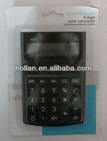 High Quality 8 Digit Solar Calculator