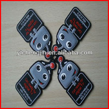 keychains for men/custom car keys/soft rubber key tag