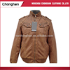Chonghan Newest Designer Cheap Mens Fashion Pu Leather Jackets India