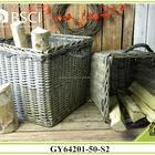 BSCI giant natural willow garden baskets