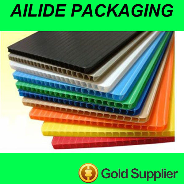 PP corrugated sheets supplier Plastic